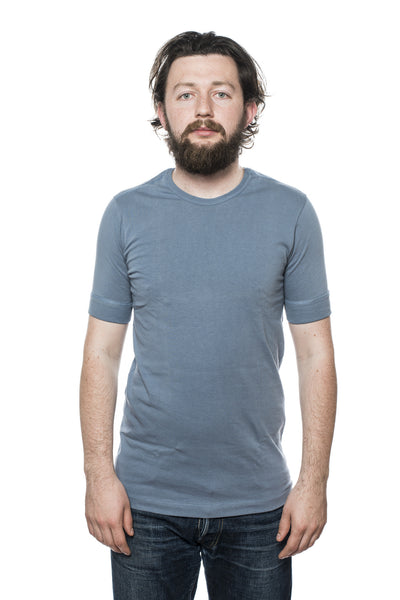 Merz b. Schwanen 213 Army Shirt Blue/Grey