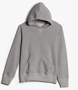 Merz b. Schwanen 382 Hooded Sweatshirt (Grey Melange)