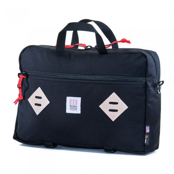Topo Designs Mountain Briefcase (Black)