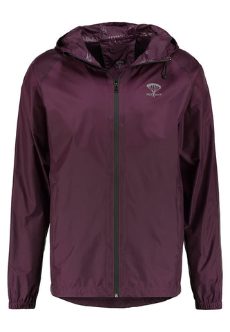 Packmack Full Zip Packable Waterproof Jacket (Plum)