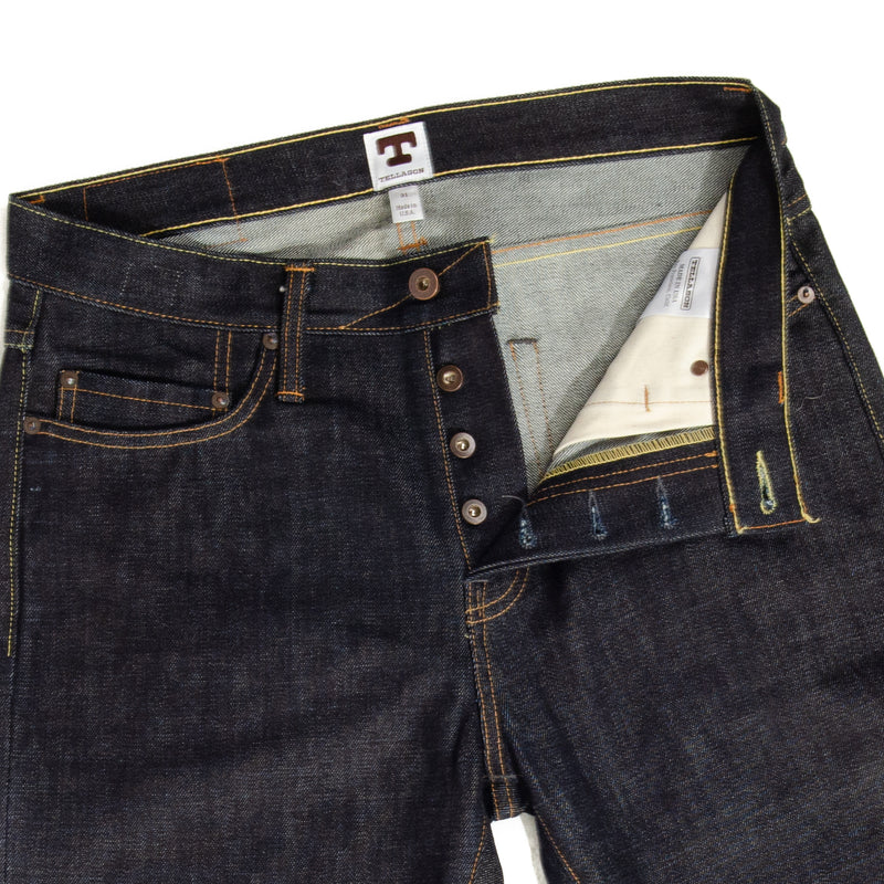 Tellason Elgin 16.5OZ Slim Tapered Jean