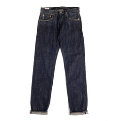 ONI 982 Kiraku 12oz Natural Indigo Relax Tapered Jean (Rinsed)