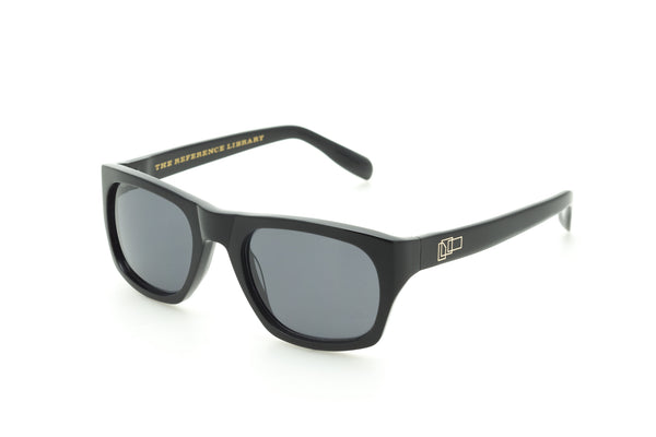 The Reference Library Michael Black Sunglasses (Black)