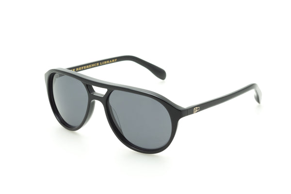 The Reference Library Stevie Black Sunglasses (Black)