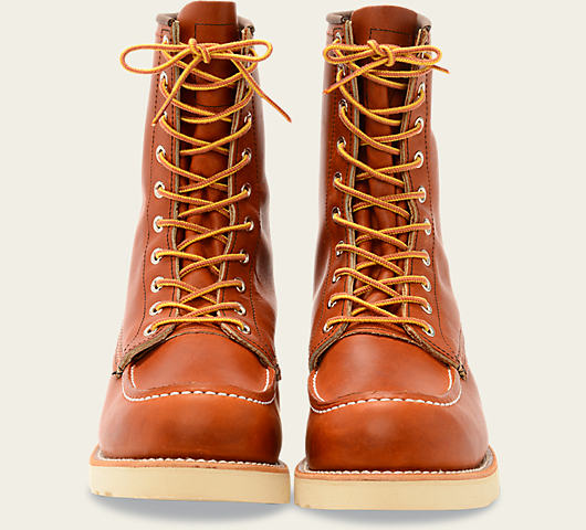 Red Wing 0877 Classic Moc Toe Boots Oro Original