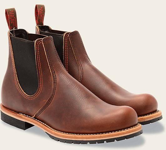 Red Wing 2917 Chelsea Rancher Boot (Briar Oil Slick)
