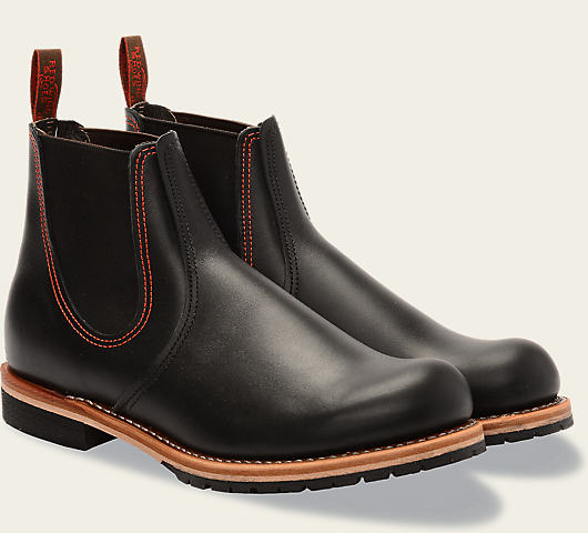 Red Wing 2918 Chelsea Rancher Boot (Black Star)