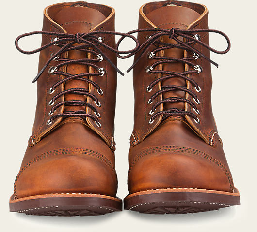 "Red Wing 8085 6"" Iron Ranger Boot (Copper Rough & Tough)"