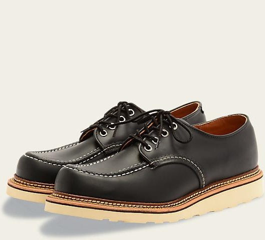Red Wing 8106 Classic Oxford Shoe (Black Chrome)