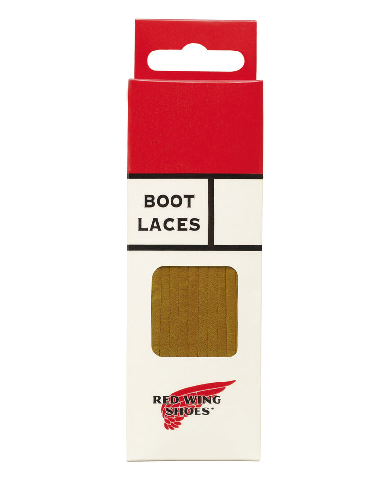 Red Wing Leather Laces (Tan)