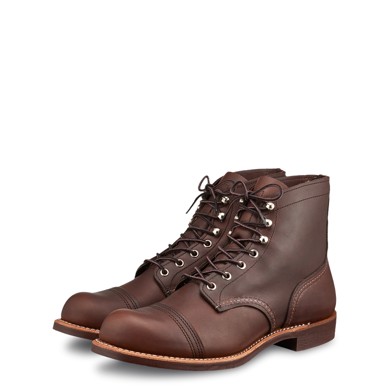 "Red Wing 8111-3 6"" Iron Ranger Boots (Amber Harness)"