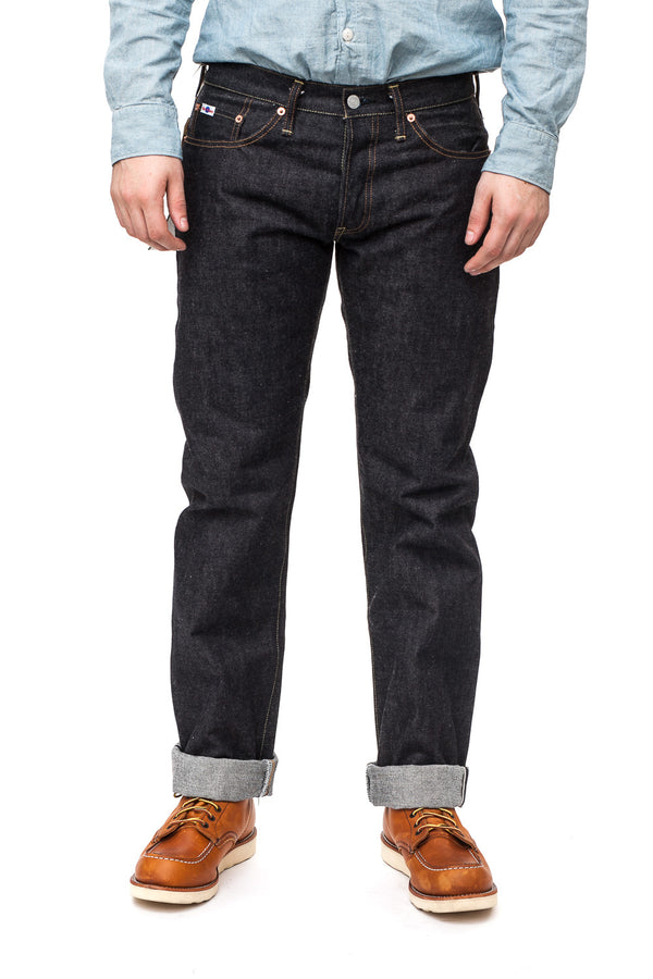 Studio D'artisan SD-106 Slim Straight Jean (Rinsed)