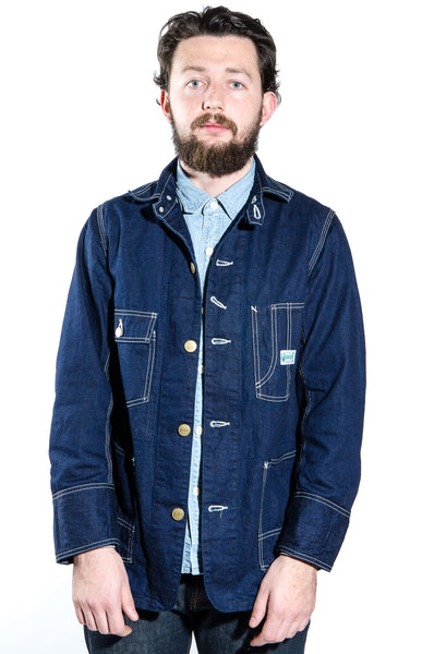 Workers Railroad Denim Jacket Son Of A Stag