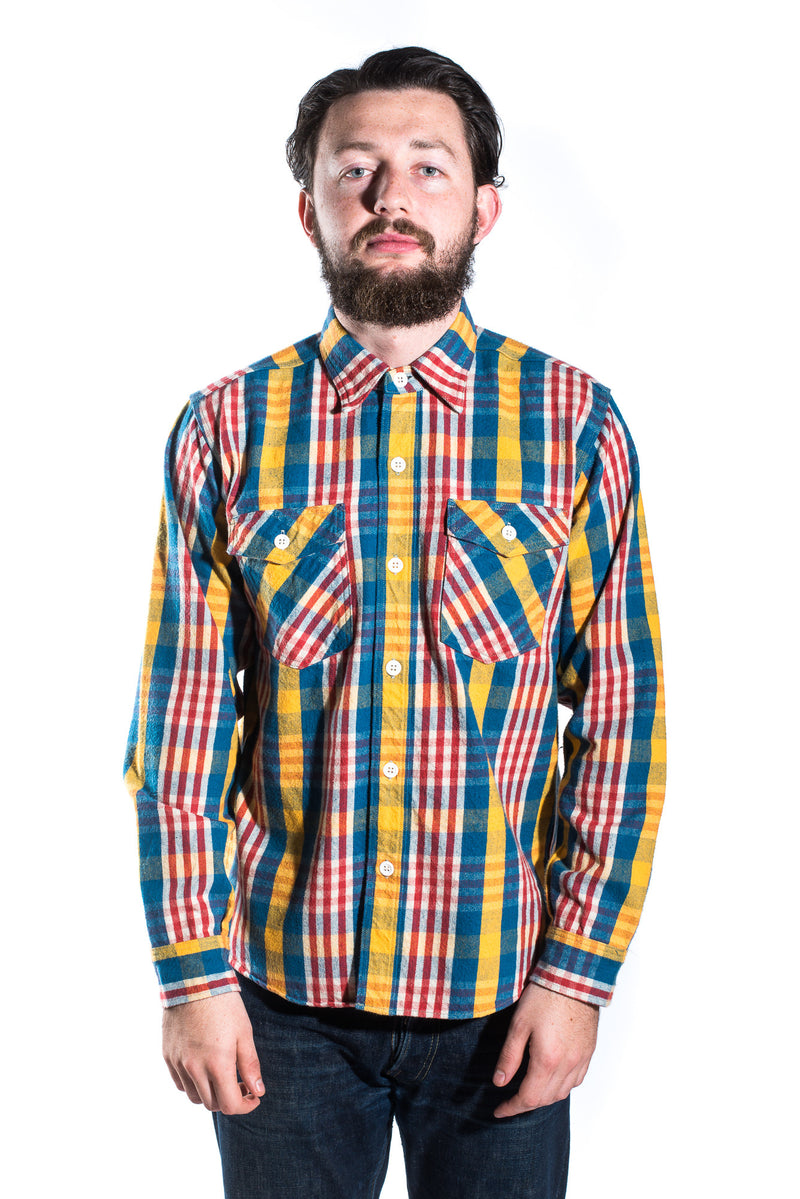 Copper King Light Check Flannel Shirt