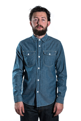 Workers Acorn Work Chambray Blue