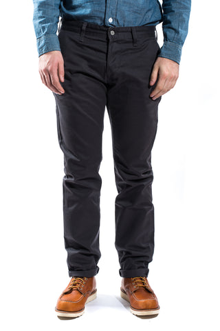 Edwin ED-55 Rinsed Chino Charcoal