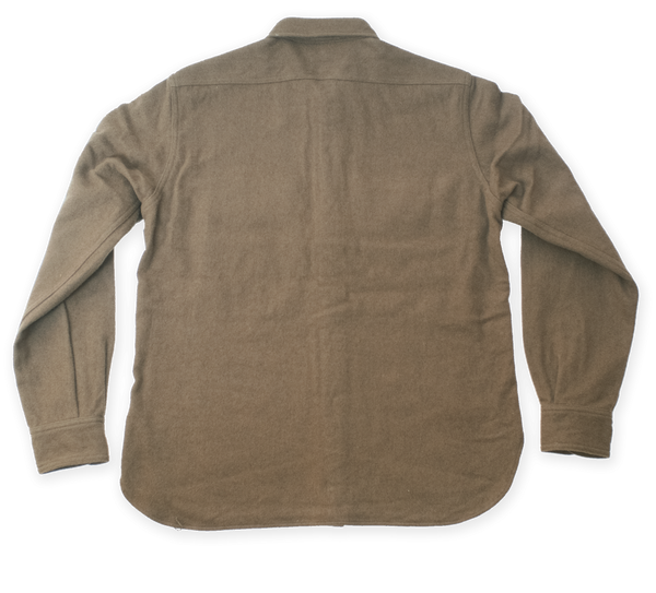 Buzz Rickson's Woolen Flight Shirt (Olive)