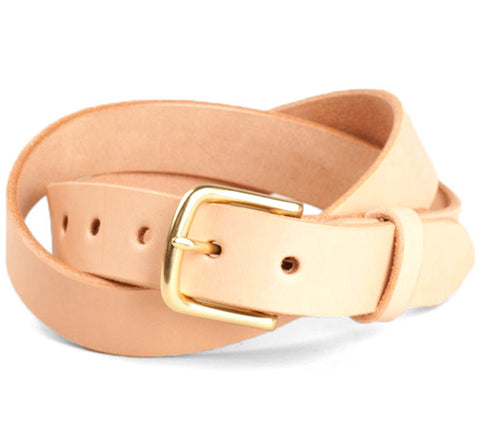 Tanner Goods Classic Belt Natural