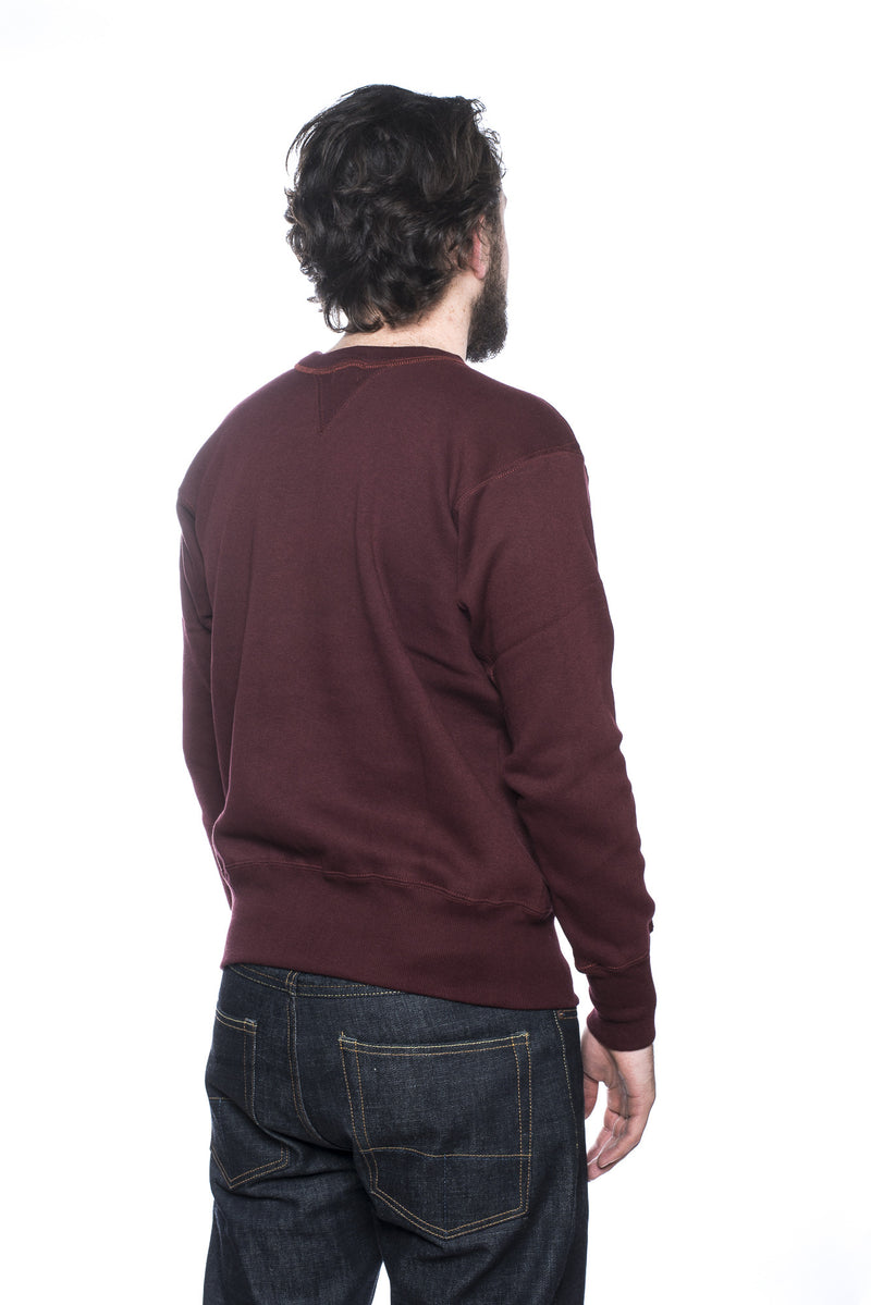 Warehouse Potomac State Sweatshirt Bordeaux