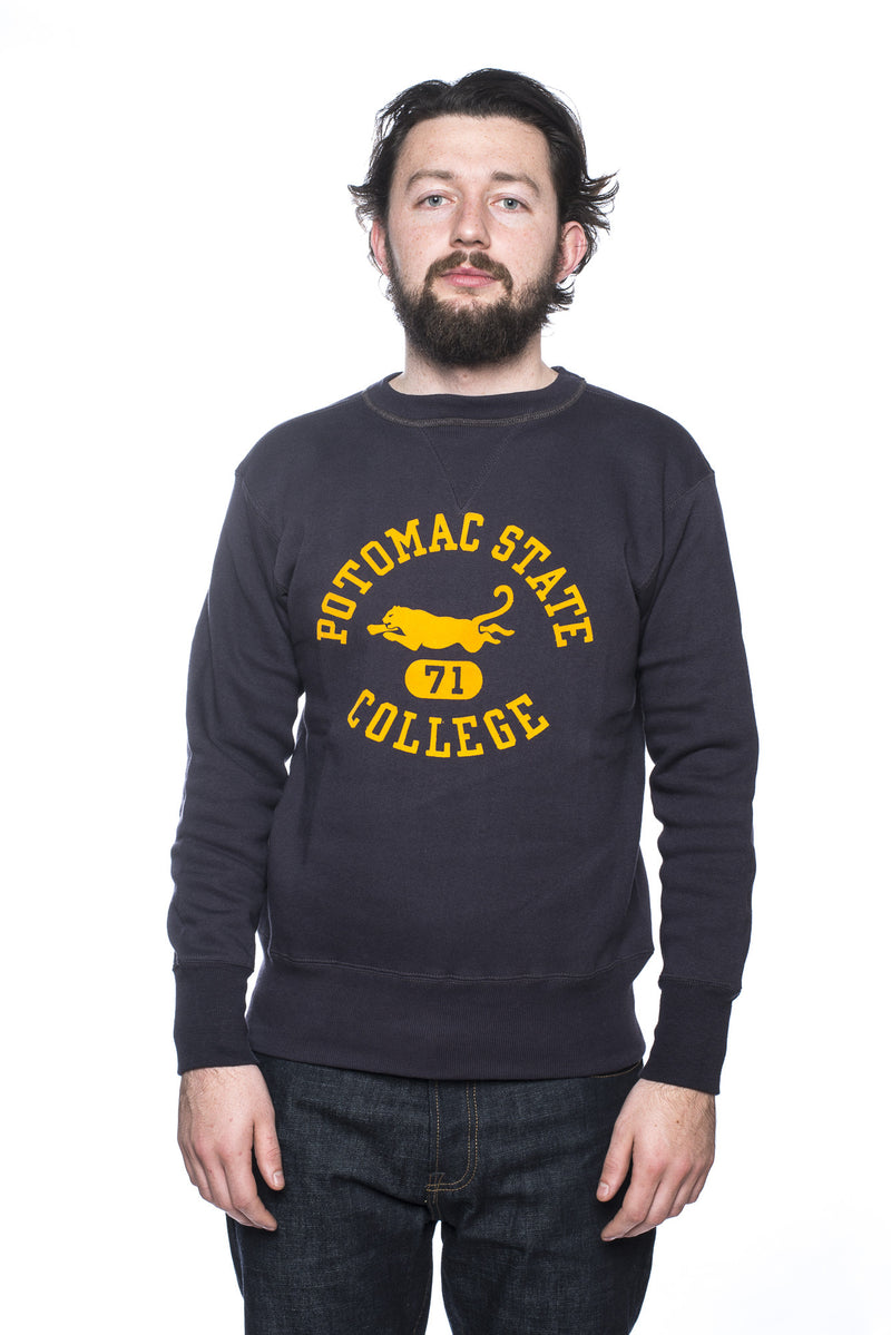 Warehouse Potomac State Sweatshirt Navy