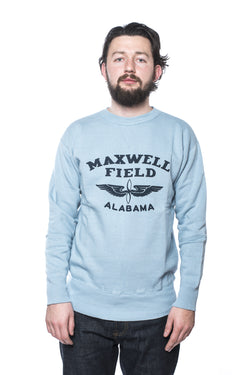 Warehouse Dubbleworks Maxwell Sweatshirt Blue