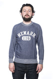 Warehouse Dubbleworks Newark Sweatshirt Blue