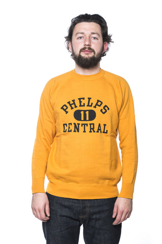 Warehouse Dubbleworks Phelps Sweatshirt Yellow