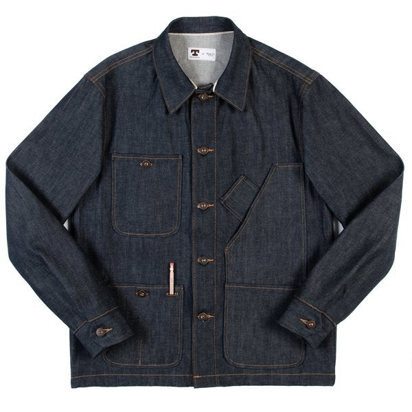 Tellason 12.5oz Coverall Denim Jacket