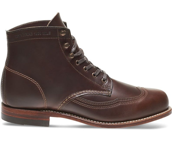 Wolverine 1000 Mile Addison Boots Brown
