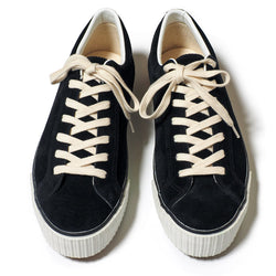 Warehouse 3400 Suede Sneaker (Black)