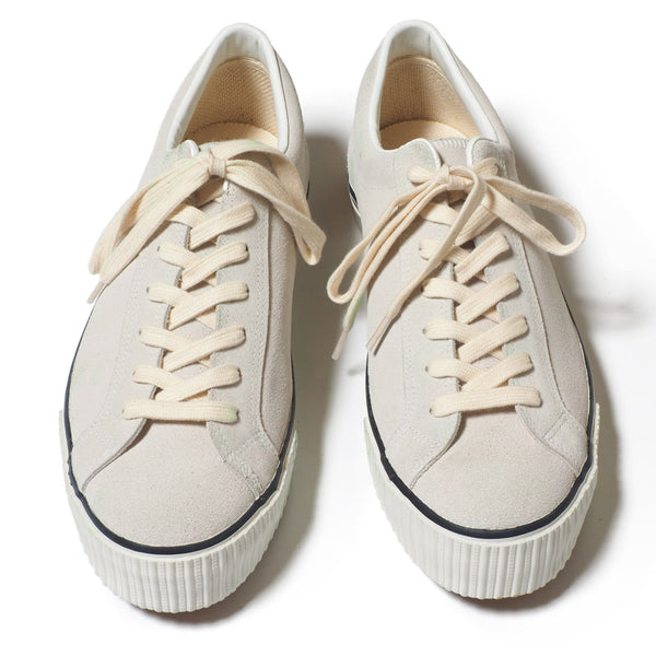 Warehouse 3400 Suede Sneaker (Off White)