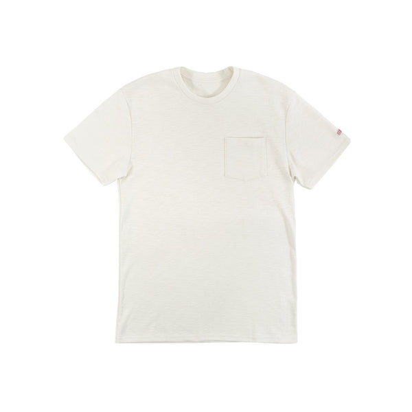 Topo Designs Heavyweight Pocket Tee (Natural)