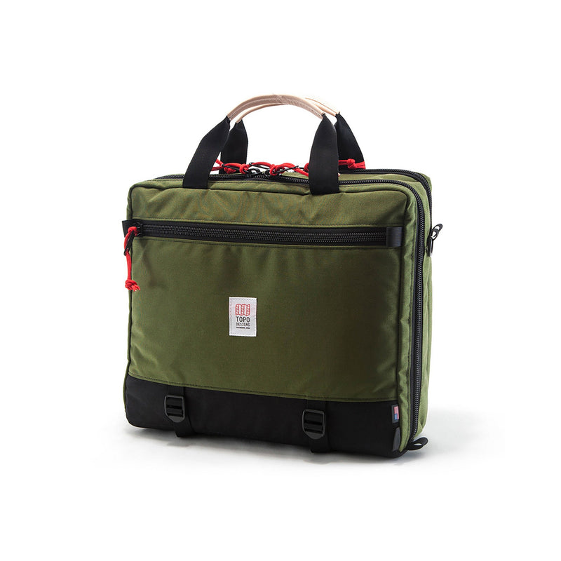 Topo Designs 3-Day Briefcase (Olive/Black)
