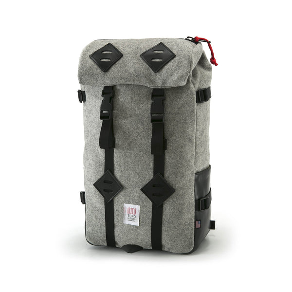 Topo Designs 22L Klettersack (Grey Wool)