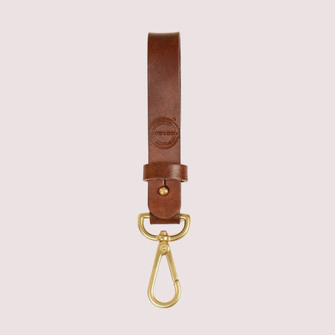Barnes & Moore Long Key Tether (Dark Stain/Brass)