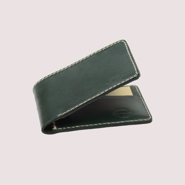 Barnes & Moore Quartermaster Wallet (Green Bridle)