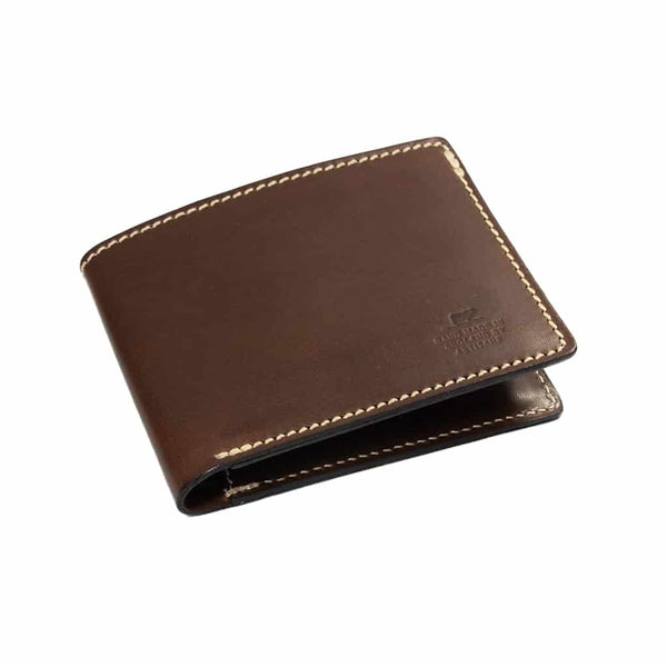 Barnes & Moore Longshore Folding Wallet (Deep Honey)