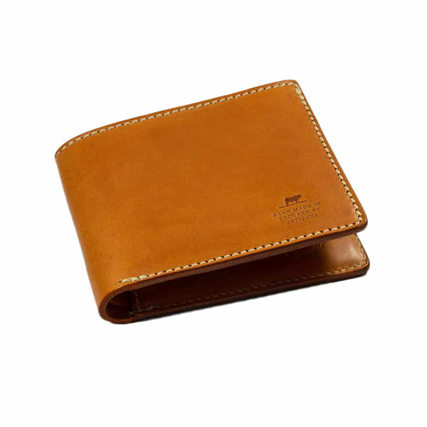 Barnes & Moore Longshore Folding Wallet (Harness Tan)