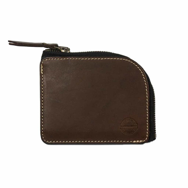 Barnes & Moore Mariners Zip Wallet (Deep Honey)