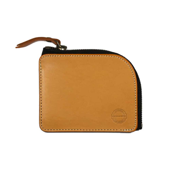 Barnes & Moore Mariners Zip Wallet (Natural)