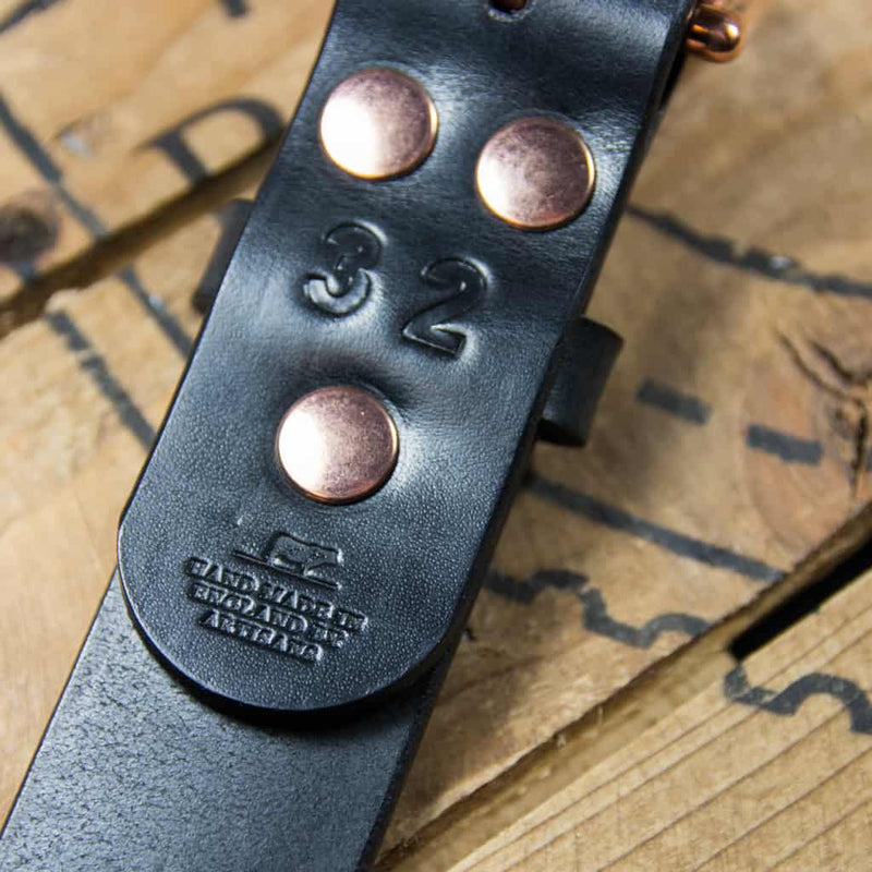 Barnes & Moore Roller Belt (Black/Copper)
