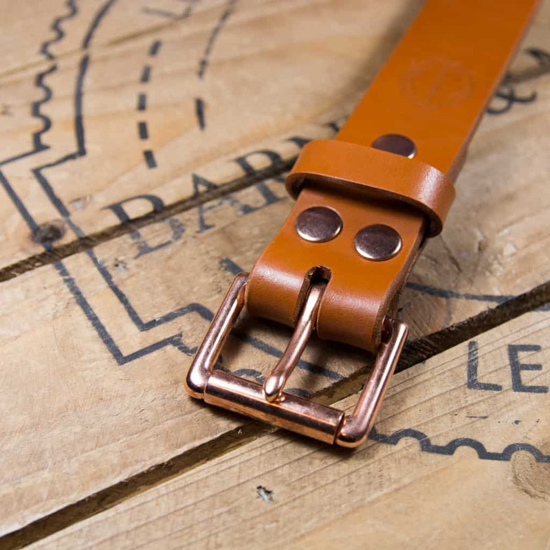 Barnes & Moore Roller Belt (Harness Tan/Copper)