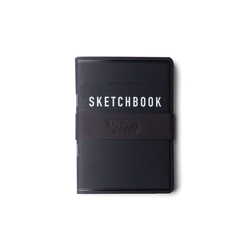 Tanner Goods Small Format Sketchbook Black