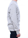 Tellason 14oz Crew Neck Sweatshirt Grey