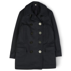 Buzz Rickson's BR14146 U.S.N. Long Pea Coat (Navy)
