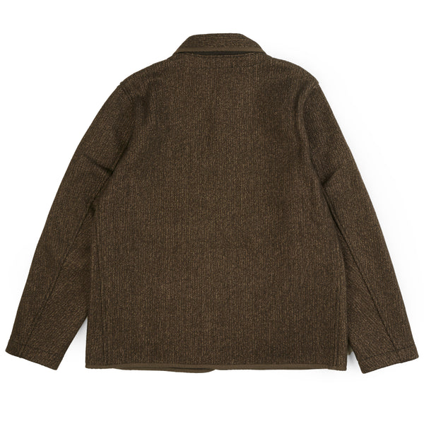 Brown's Beach Round Collar Jacket (Oxford Grey)