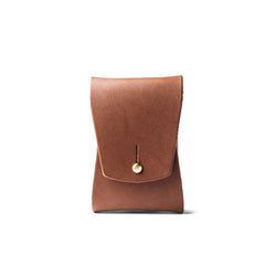 Tanner Goods Business Card Case Cognac