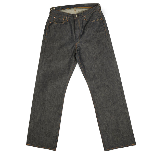 Full Count 0105 13.75oz 'Plain Pocket' Wide Straight Jean