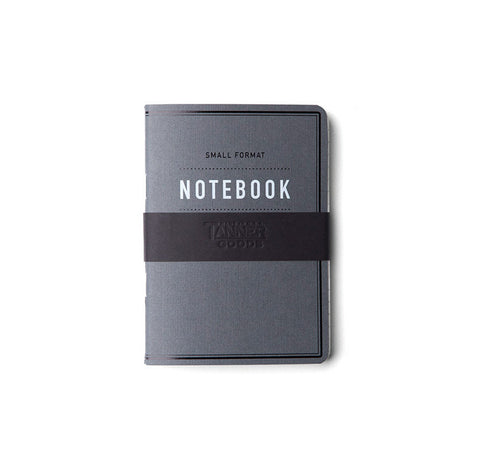 Tanner Goods Small Format Notebook Charcoal