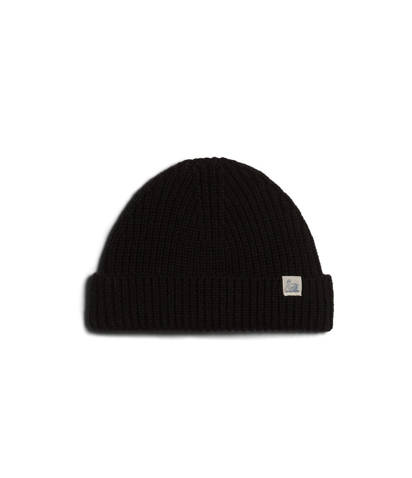 Merz b. Schwanen MWBN02 Good Basics Beanie (Deep Black)